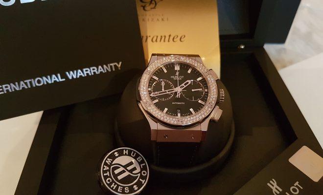 on sale 2c39e c45aa 200万円ぐらい?のHUBLOTダイヤ時計をいただいた。 | YOZAWA ...